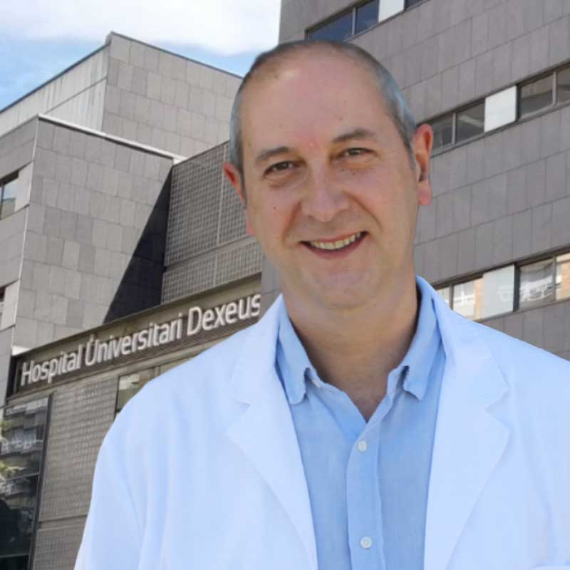 Dr. Javier Nebreda. Endoscopista de Endoscopia de la Obesidad. Hospital Dexeus
